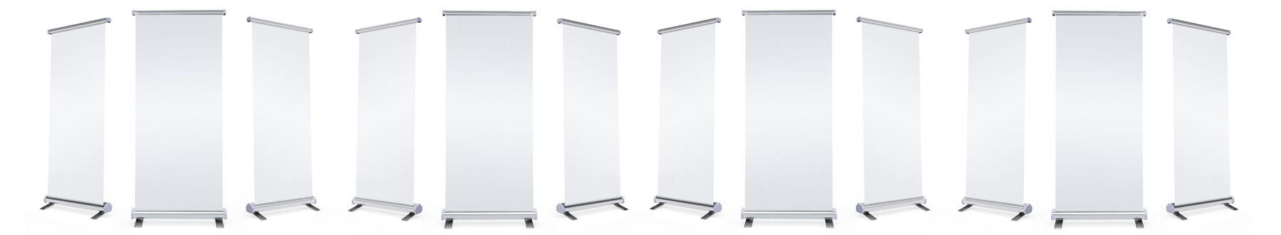 Roll-up banners Straight
